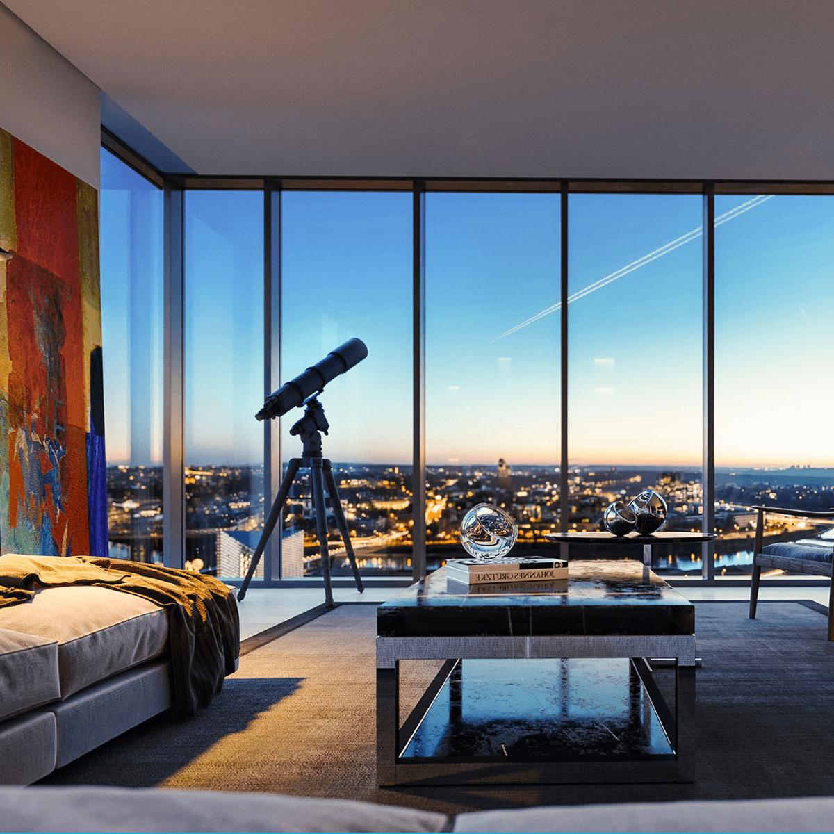 Tower lejligheder